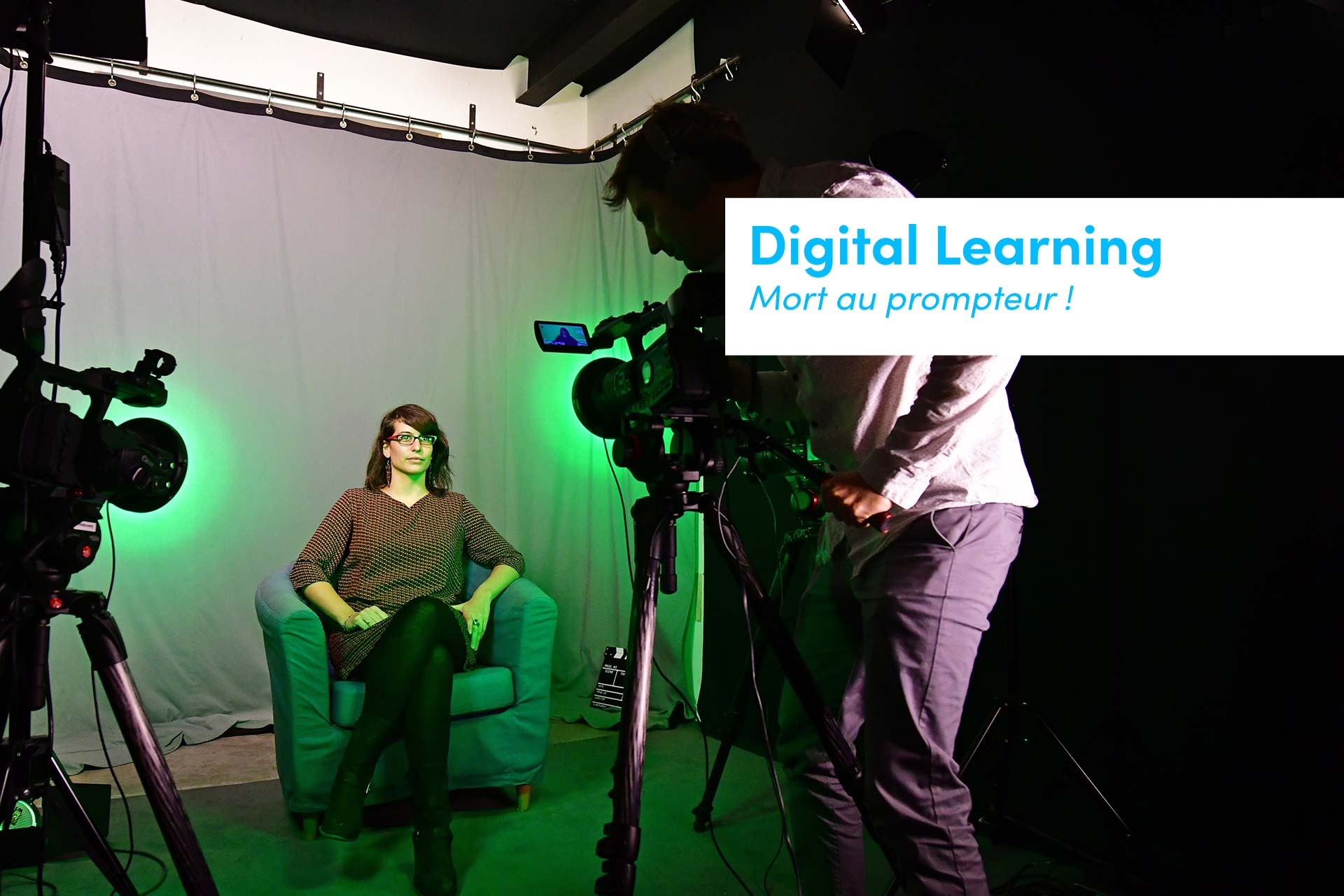 video digital et prompteur la fausse bonne idee