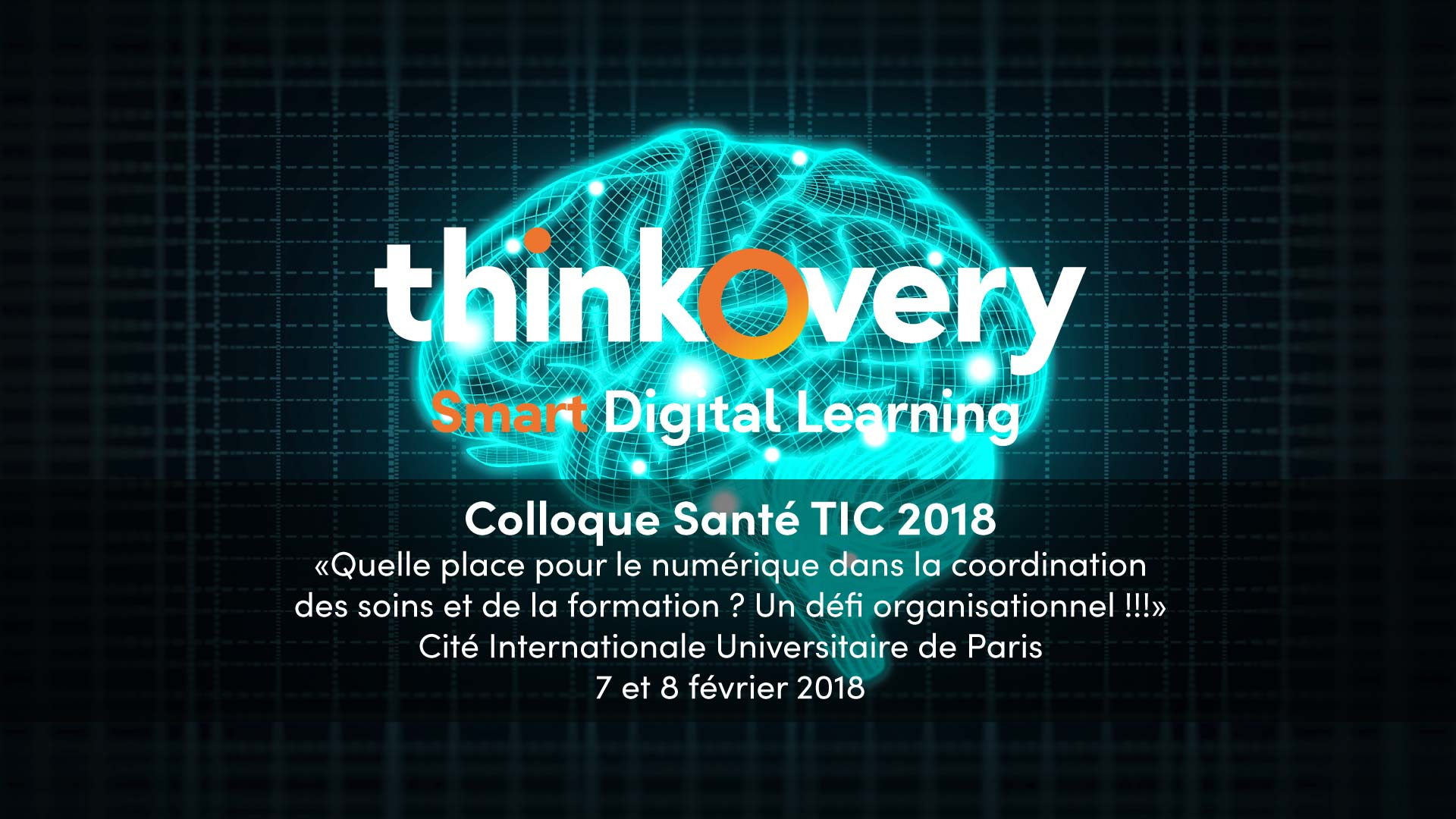 colloque TIC sante 2018 digital learning thinkovery