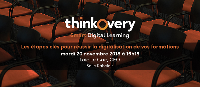 conference elearning expo lyon digitalisation formation thinkovery
