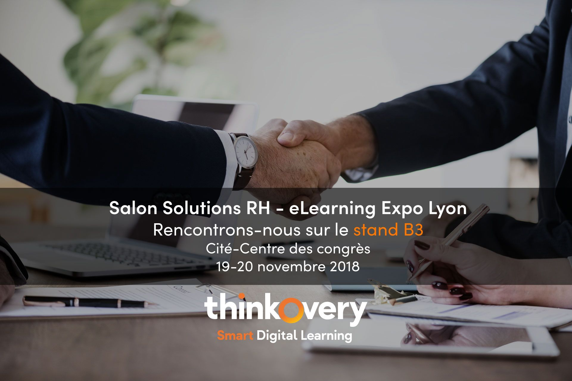 salon srh elearning expo lyon 2018 thinkovery digital learning