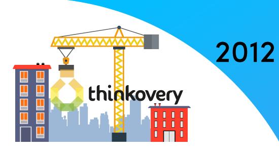 En 2012, Thinkovery commence son activité de réalisation de vidéos pédagogiques.