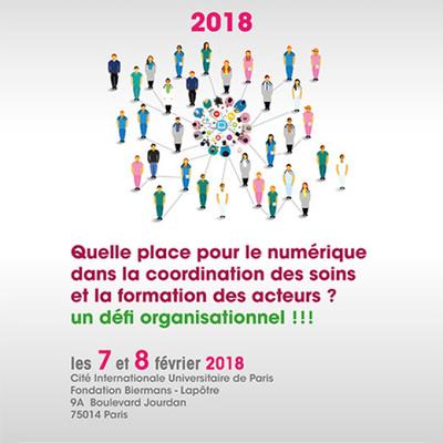 Le Colloque TIC Santé 2018 s'interroge sur la place du numérique dans la coordination du parcours de soins et la formation des acteurs de santé.